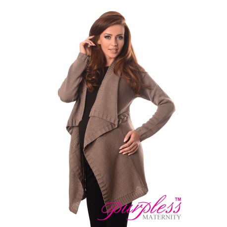 Maternity and Nursing Cardigan 9003 Cappuccino