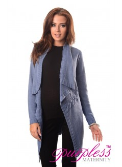 Maternity and Nursing Cardigan 9003 Jeans