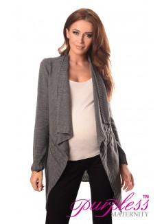 Maternity and Nursing Cardigan 9003 Dark Gray