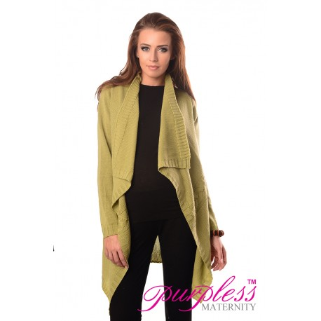 Maternity and Nursing Cardigan 9003 Pistachio