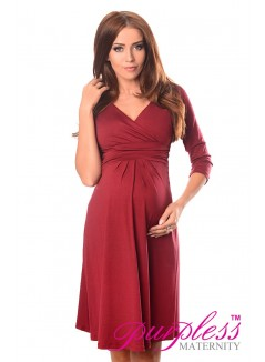 Formal Dress 4400 Burgundy