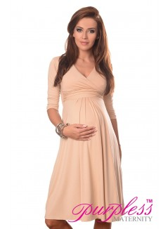Formal Dress 4400 Beige