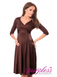 Formal Dress 4400 Brown