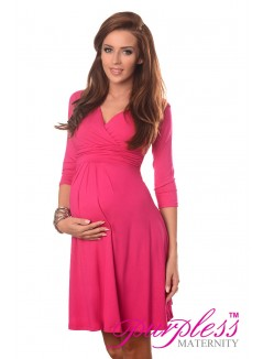 Formal Dress 4400 Hot Pink