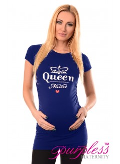 Queen Mum Top 2009 Royal Blue