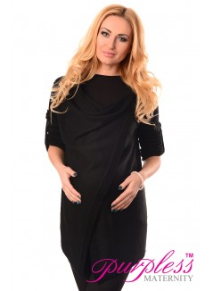 Pregnancy and Nursing Cardigan 9005 Black