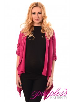 Pregnancy and Nursing Cardigan 9005 Dark Pink