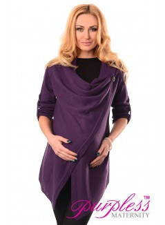 Pregnancy and Nursing Cardigan 9005 Violet