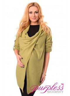 Pregnancy and Nursing Cardigan 9005 Pistachio