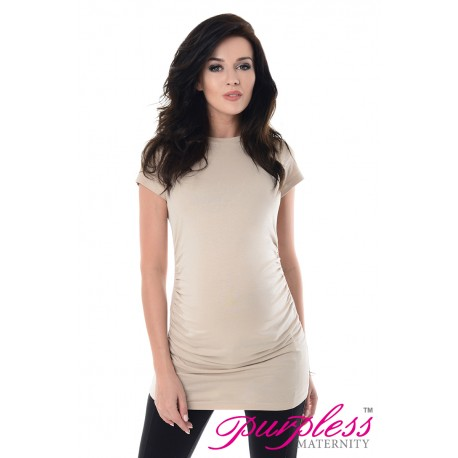 Pregnancy T-Shirt 5025 Beige