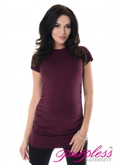 Pregnancy T-Shirt 5025 Plum
