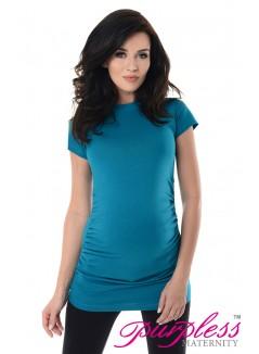 Pregnancy T-Shirt 5025 Dark Turquoise