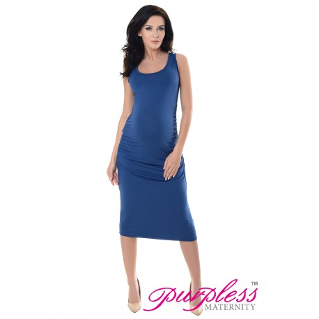 Sleeveless Jersey Midi Dress 8130 Jeans