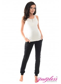 Pregnancy Trousers 1307 Black