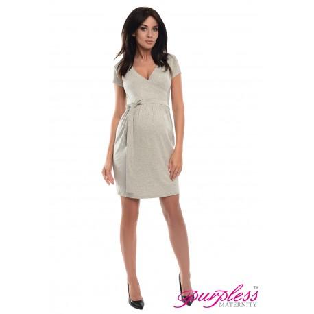 Cocktail Dress 5416 Light Gray Melange