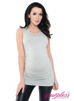 Vest Top 5071 Light Gray Melange