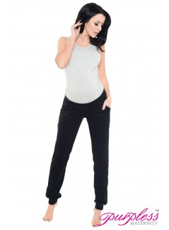 Pregnancy Trousers 1314 Black