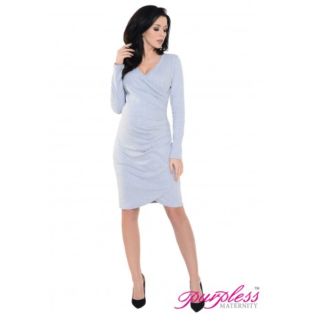 6232 Contemporary Side Pleated Dress