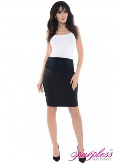 Formal Pencil Skirt 1504 Black