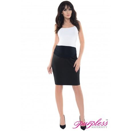 Formal Pencil Skirt 1504 Black