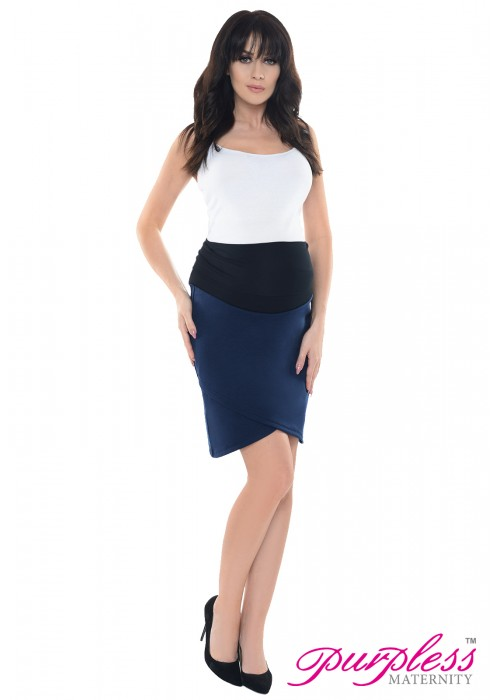 Formal Tulip Skirt 1512 Navy
