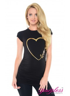 Love Heart Top 2011 Black