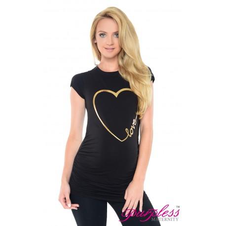 Love Heart Top 2011 Black