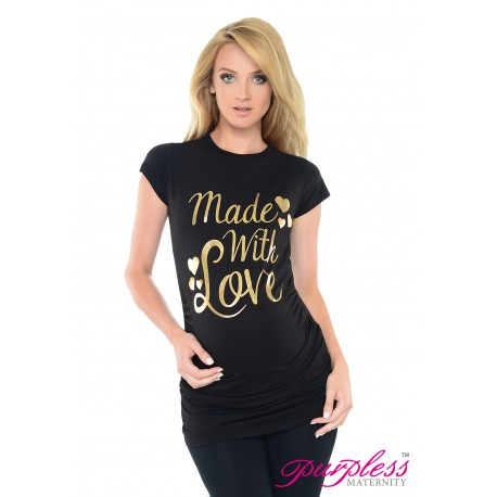 Made with Love Top 2015 Black