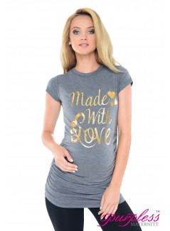 Made with Love Top 2015 Marl Gray Melange