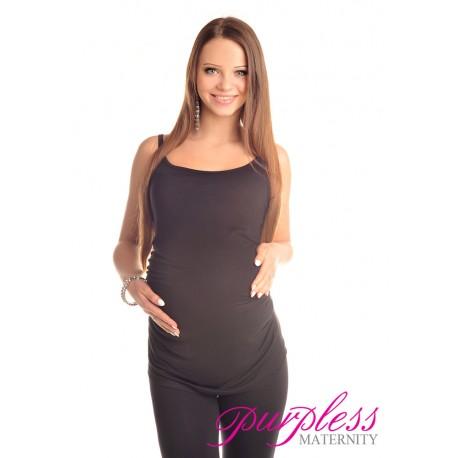 Spaghetti Strap Top Camisole Vest 8010 Black