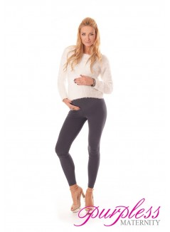 Stretchy Maternity Leggings 1000 Graphite