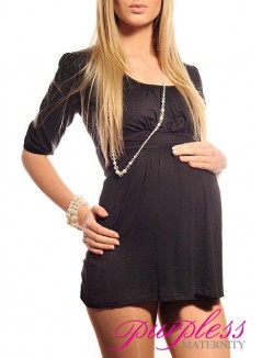Tunic Scoop Neck 5006 Black