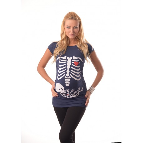 Skeleton Top 2003 Navy
