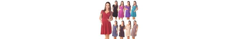 8417 Short Sleeve Dress