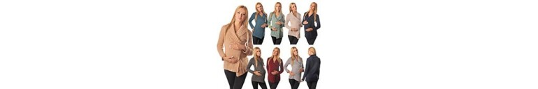 9002 Pregnancy & Nursing Cardigan