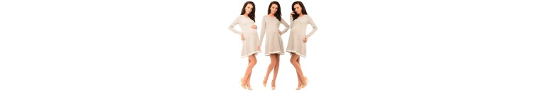 6218 Asymmetric Pregnancy Tunic