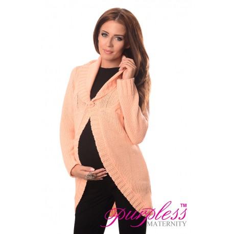 Maternity Cardigan 9004 Apricot