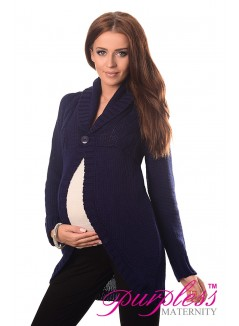 Maternity Cardigan 9004 Navy