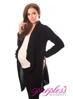 Maternity and Nursing Cardigan 9003 Black