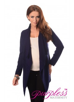 Maternity and Nursing Cardigan 9003 Navy
