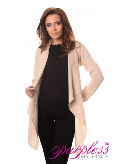 Maternity and Nursing Cardigan 9003 Cream