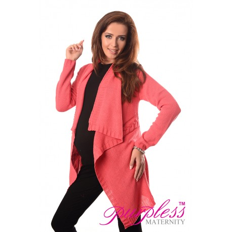 Maternity and Nursing Cardigan 9003 Coral