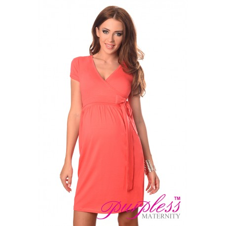 Cocktail Dress 5416 Coral