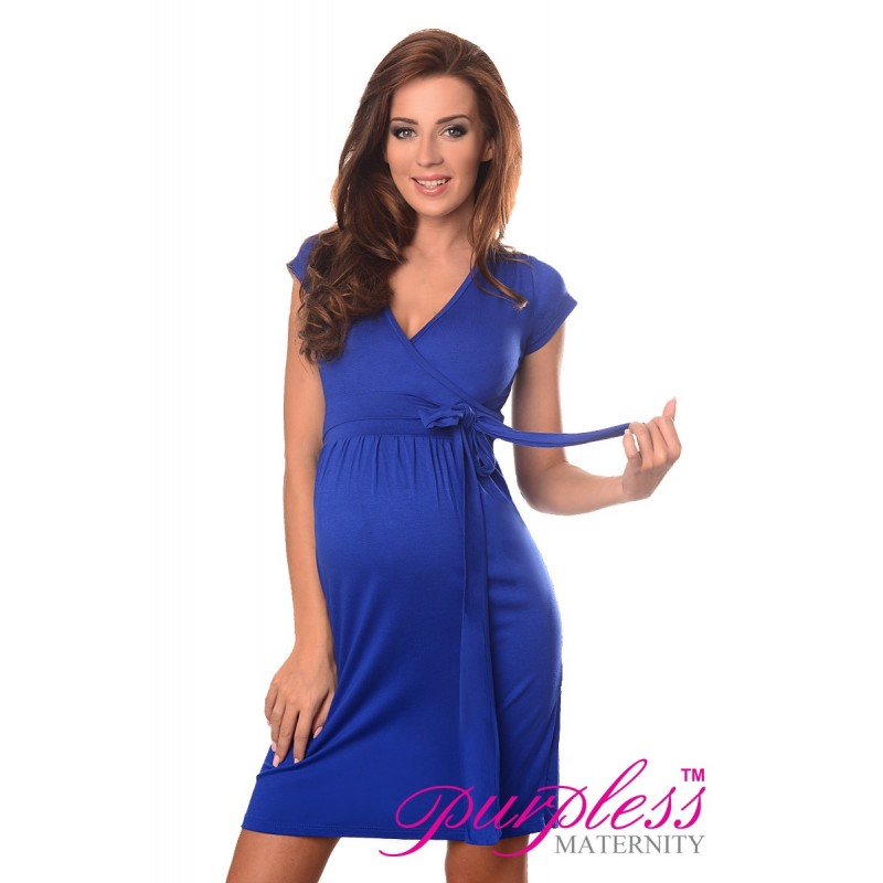 Cocktail Dress 5416 Royal Blue Purpless Ltd