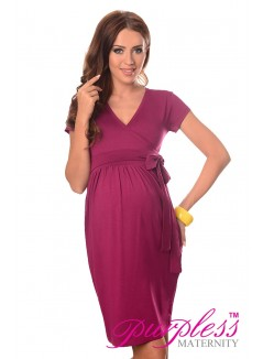 Cocktail Dress 5416 Dark Pink