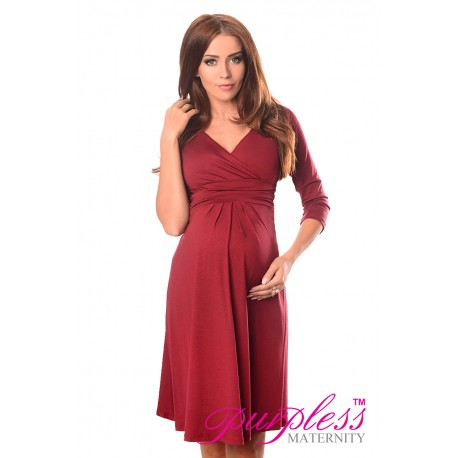 Formal Dress 4400 Burgundy