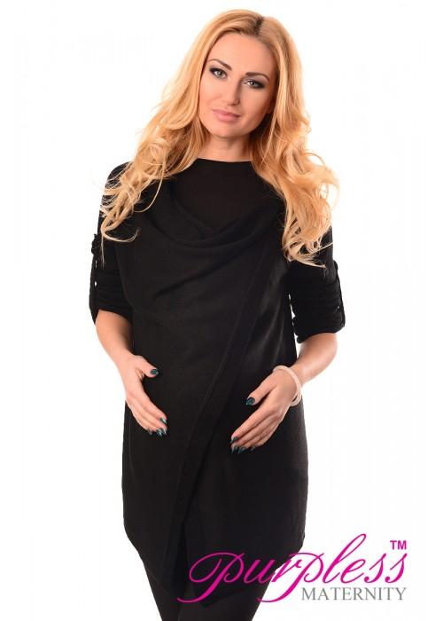 Pregnancy and Nursing Cardigan 9005 Black