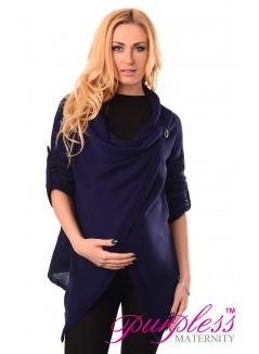 Pregnancy and Nursing Cardigan 9005 Navy