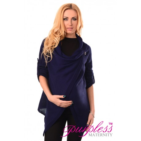 Pregnancy and Nursing Cardigan 9005 Navy