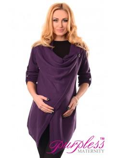 Pregnancy and Nursing Cardigan 9005 Violet